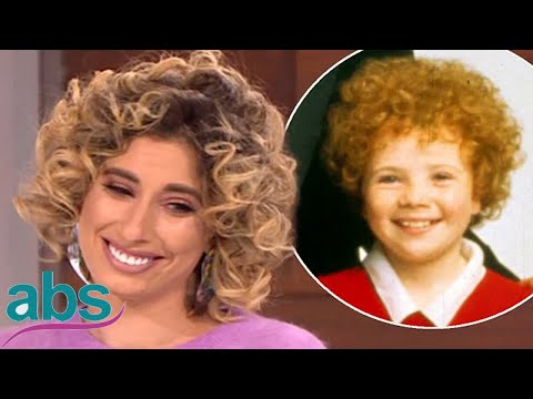 Stacey Solomon displays wild new hair on Loose Women    ABS US  DAILY NEWS