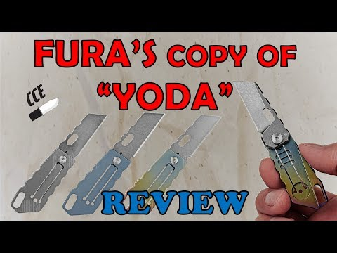 Review of the FURA version of the Quartermaster Knives ALF 6 YODA