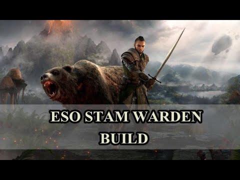 XABLAU !! ESO Build Stam Warden  Pvp Medium / Heavy