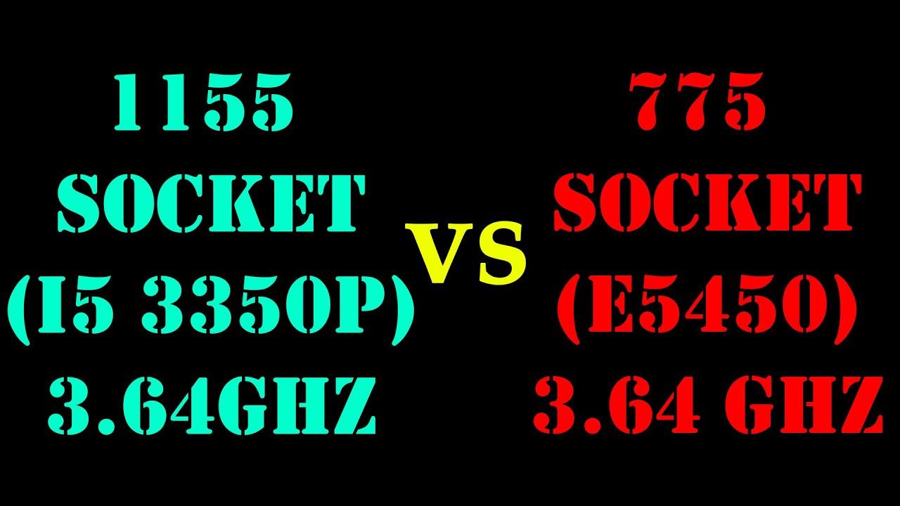 Xeon E5450 (775) vs i5 3350P (1155), тест на одной частоте в популярных бенчмарках