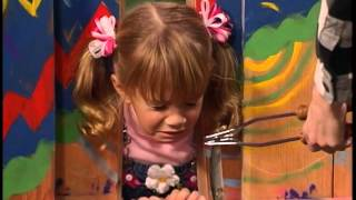 michelles head gets stuck in the fence full house