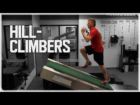 Hill Climber Treadmill Incline Sprints (Hill Run) | Sprint Endurance & Conditioning