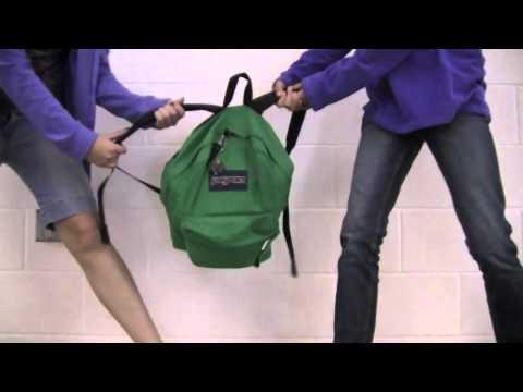 Student Jansport Backpack Commercial