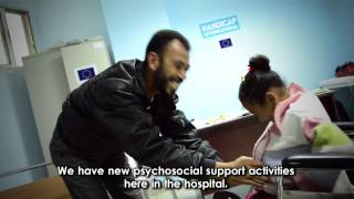 Handicap International and ECHO: Delivering care to Syrian refugees