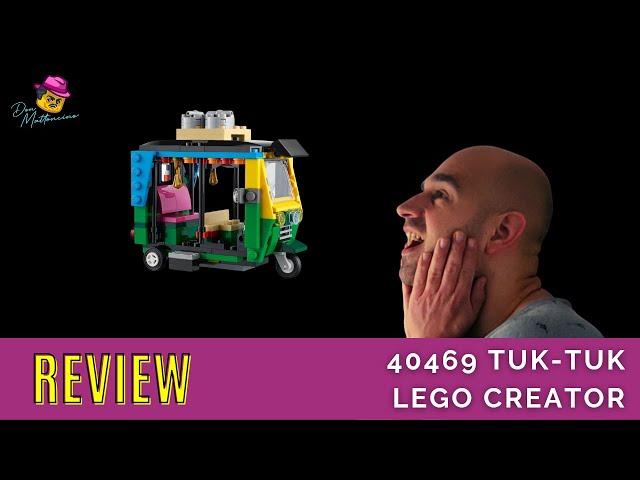 40469 Lego Creator Tuk Tuk Don Mattoncino