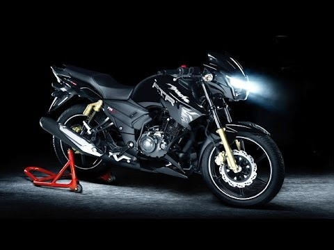 tvs apache rtr 180 matte black edition launched youtube