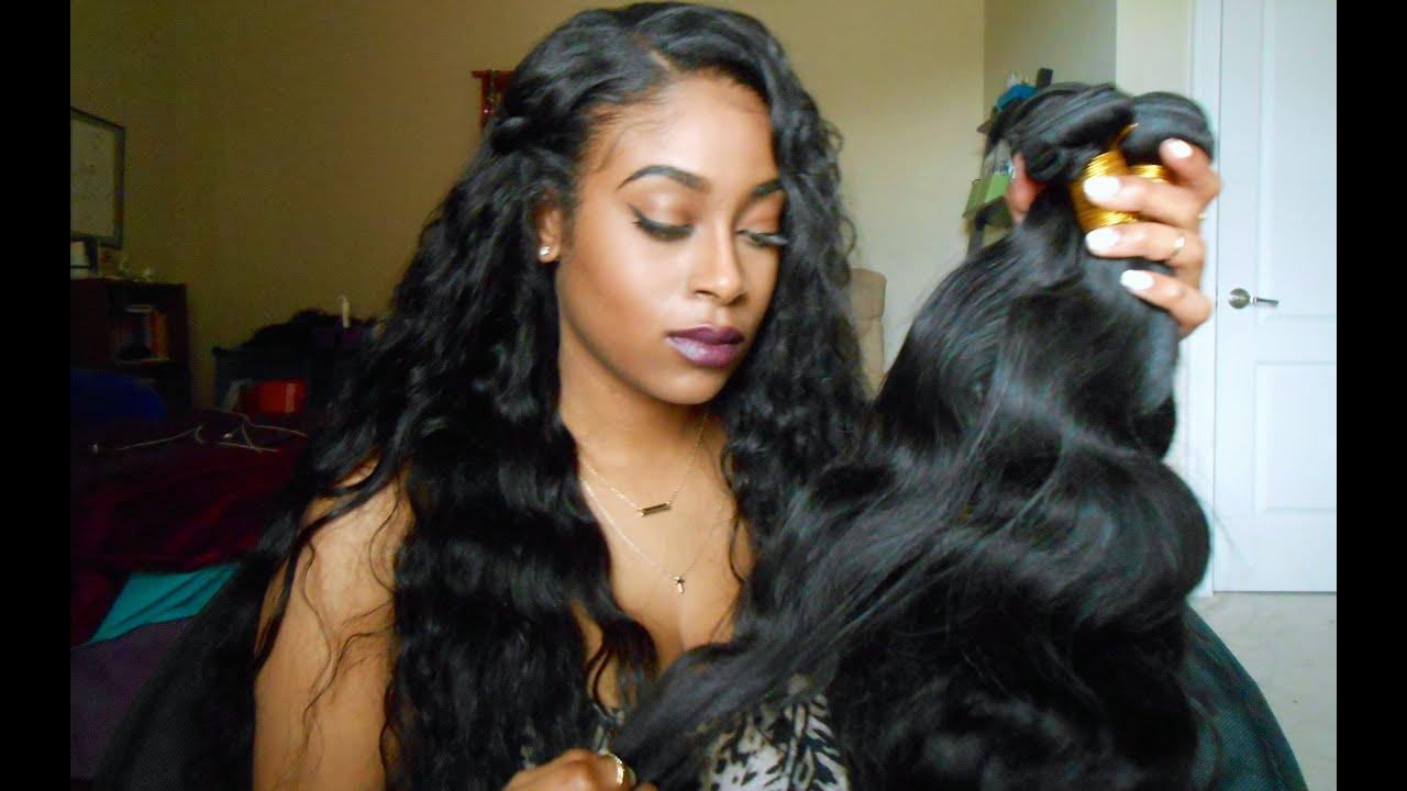 Aliexpress Initial Hair Review Virgin Brazilian Body