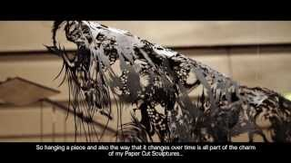 Paper Cut Sculpture -- Nahoko Kojima -- Documentary (2013)