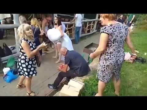 Треш на русской свадьбе/Madness At A Russian Wedding