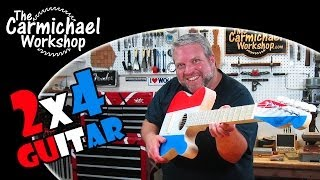 2x4 Acoustic Telecaster Guitar - 2014 Summers Woodworking Contest Winner