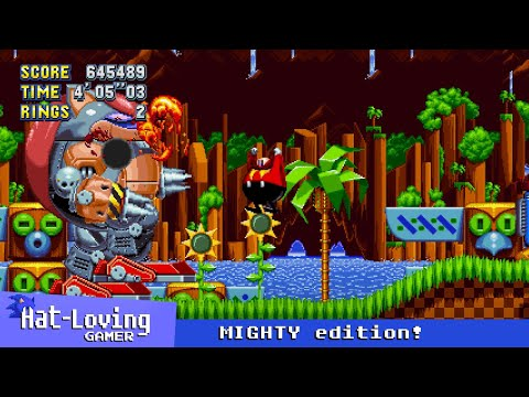I thought this was Sonic Mania - MIGHTY edition!