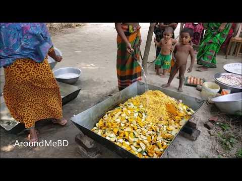 Charity Foods | 50 KG Vegetables Gravy Cooking / Prepared By Village Women