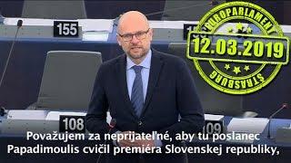 Premiér Peter Pellegrini v europarlamente o budúcnosti Európy