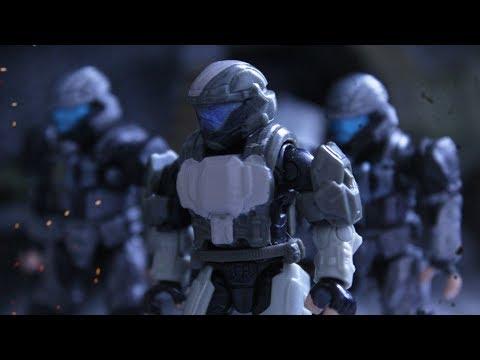 Halo Mega Bloks Stop Motion - Fallen Soldiers