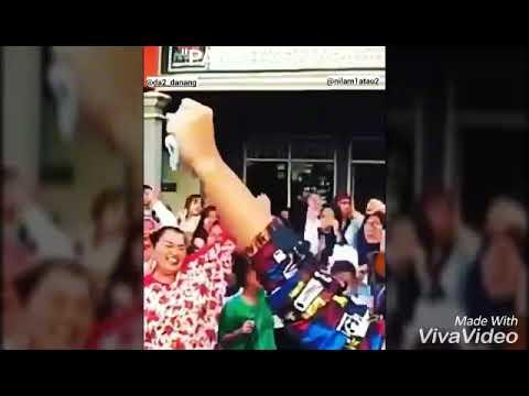 Danang & nilam gamma 1 keseruan promo radio di karawang