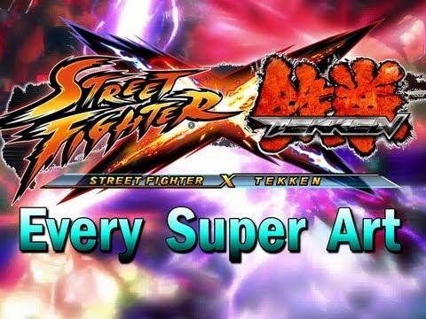 Street Fighter x Tekken: All 52 Characters Unlocked (HD)