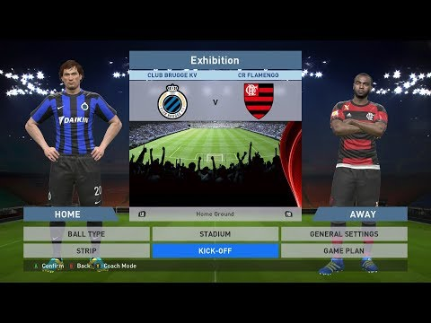 Club Brugge KV vs CR Flamengo, Jan Breydel Stadion, PES 2016, PRO EVOLUTION SOCCER 2016
