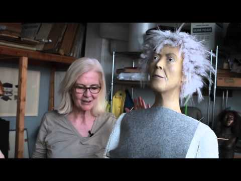 Juidth Shea about her sculpture of Elizabeth Catlett