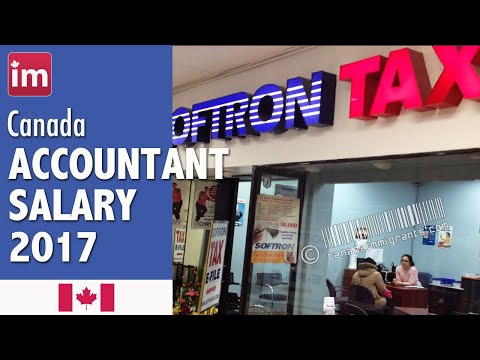 Accountant Salary in Canada - Jobs in Canada
