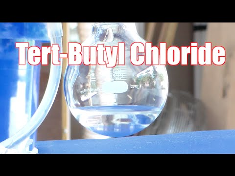 How To Make Tert-Butyl Chloride
