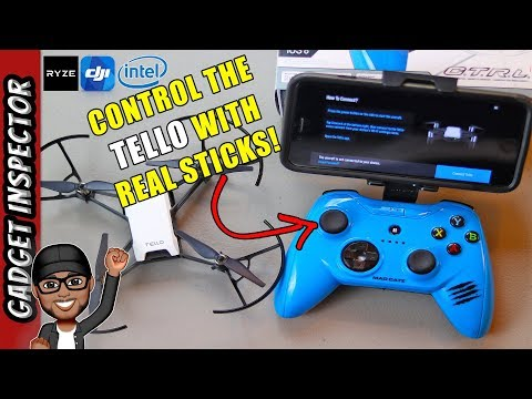 Mfi Bluetooth Controller for the Ryze Tech Tello Drone | Madcatz C.T.R.L.i Review | Part 3