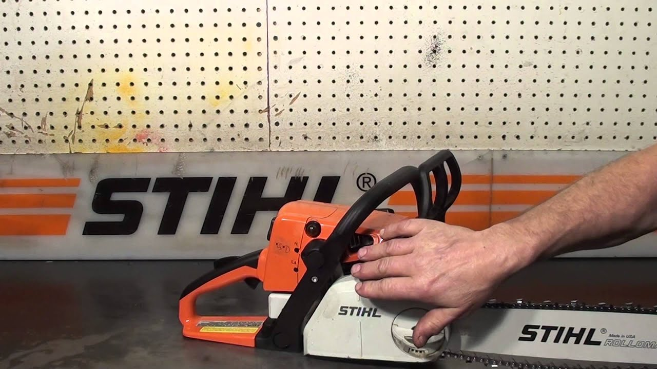 the chainsaw guy shop talk stihl ms 250 c chainsaw 4 18 youtube. Black Bedroom Furniture Sets. Home Design Ideas