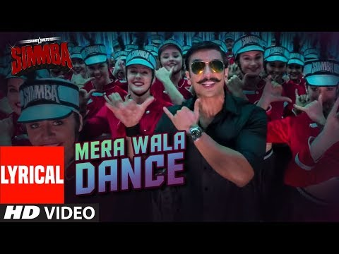 Mera Wala Dance Lyrical   Simmba   Ranveer Singh, Sara Ali Khan   Neha K,Nakash A,Lijo G-DJ Chetas