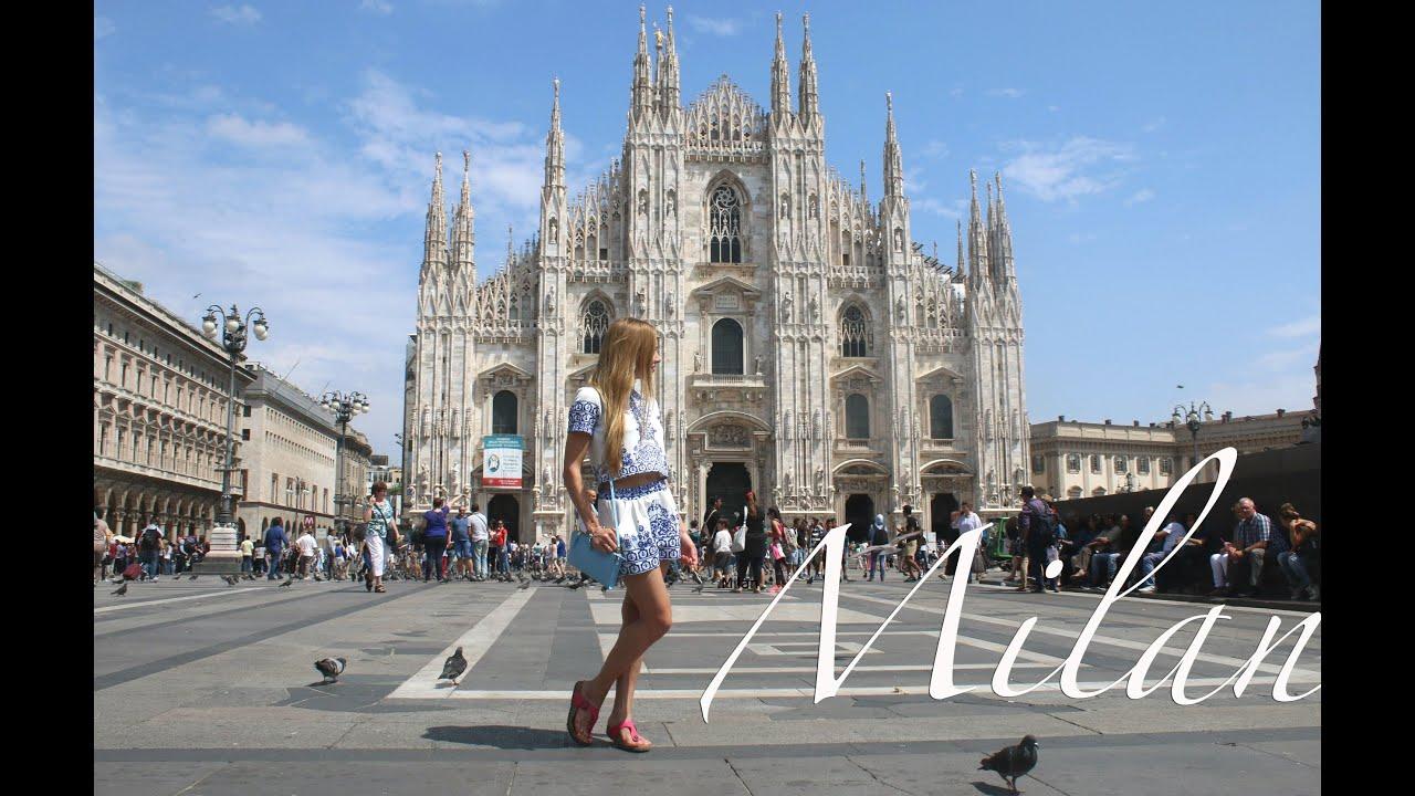 Milan, Italy ♡ Милан, Италия - YouTube