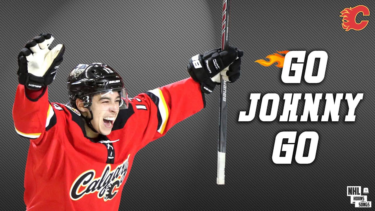 Calgary Flames Johnny Gaudreau Goal Horn ᴴᴰ