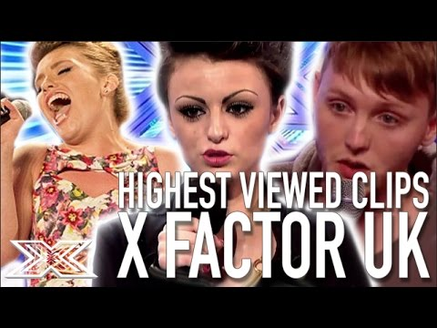 TOP 10 MOST VIEWED PERFORMANCES The X Factor UK