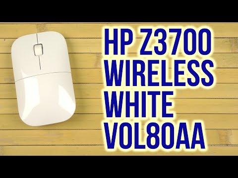 e6b17ad58f9 Распаковка HP Z3700 Wireless White V0L80AA - YouTube