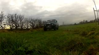 Off-road Training In Belfast,northern Ireland. Gopro Hd