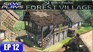 Life Is Feudal Forest Village Let's Play / Gameplay - Ep 12 - MINING & CASTLE BARN