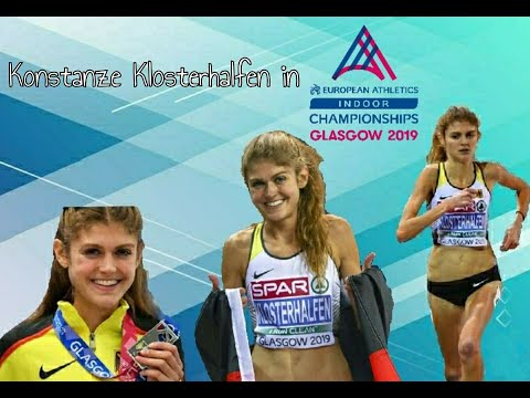 Konstanze Klosterhalfen in Glasgow!