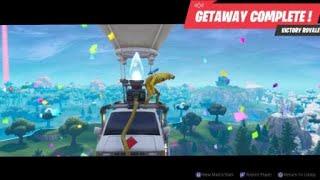 Fortnite - Peely - Getaway Victory Royale