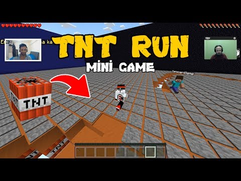 TNT Run - Mini Game Map - Minecraft PE