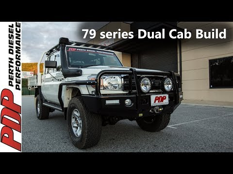 2016 V8 Toyota Landcruiser 79 series Dual Cab PDP Vehicle Build