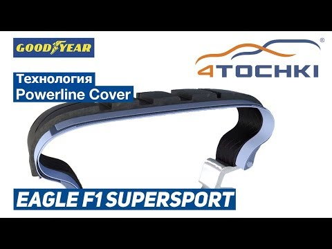 Goodyear Eagle F1 SuperSport - технология Powerline Cover