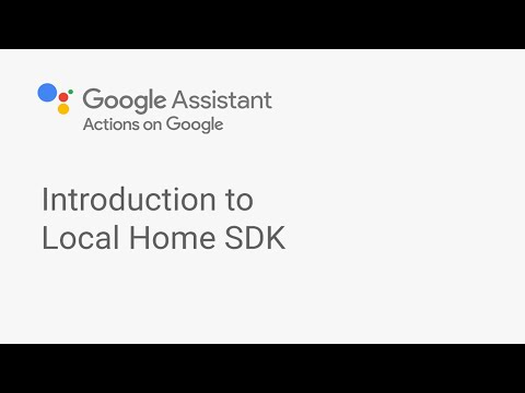 Introduction to Local Home SDK