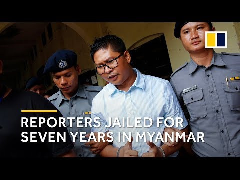 Reuters reporters jailed in Myanmar for breaching secrets act