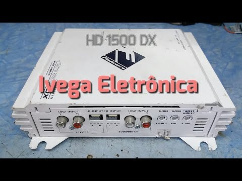 Módulo Falcon HS1500DX   3 Canais  450 Watts RMS