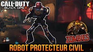 Le robot PROTECTEUR CIVIL (3 fusibles) - Tuto Zombie Shadows of Evil BO3 | FPS Belgium