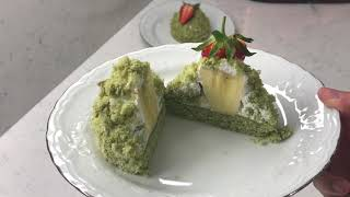 Ispanaklı Mini Köstebek Pasta Tarifi/ Ispanaklı Kek Tarifi/ Görüntüsü de Tadı da HARİKA!