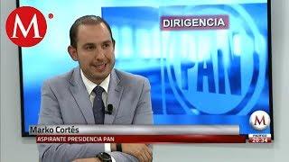 No represento la continuidad: Marko Cortés