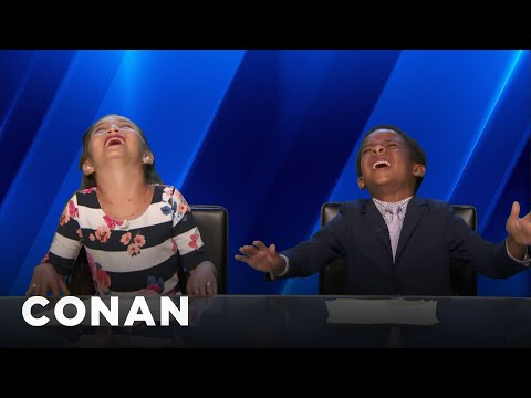 The 7-Year-Olds News Network Reports On Uranus  - CONAN on TBS