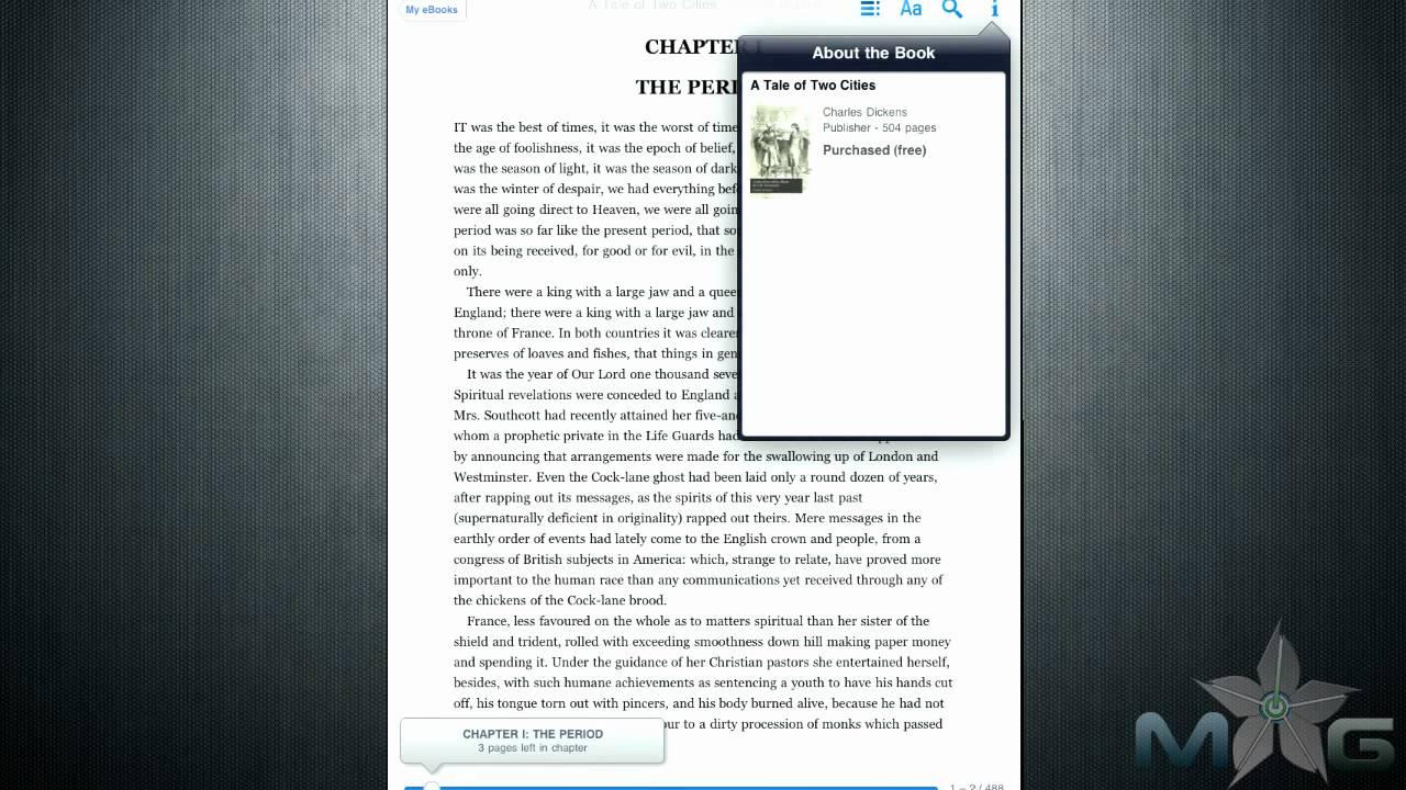 iPad App Review: Google Books