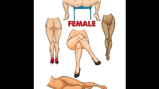 How to draw The Female Legs