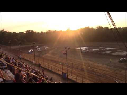 Butler Motor Speedway UMP Modified Heat #2 7/15/17