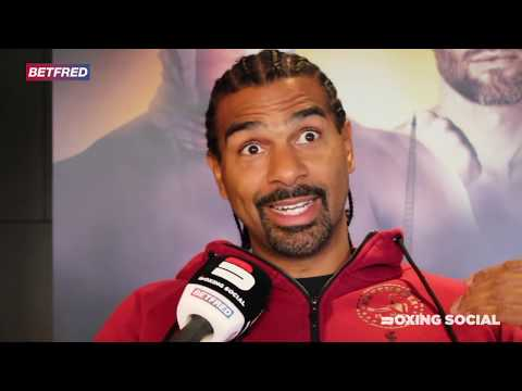 'WAS HE GETTING HIT WITH THAT SHOT IN SPARRING?' -DAVID HAYE BREAKS DOWN WHYTE REMATCH, USYK-CHISORA from YouTube · Duration:  13 minutes 49 seconds