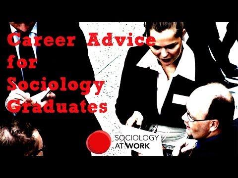 Career Advice for Sociology Graduates